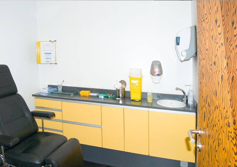 Anabio - salle de prelevement 2